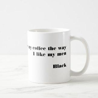 黒人男性の感謝のコーヒー・マグ コーヒーマグカップ