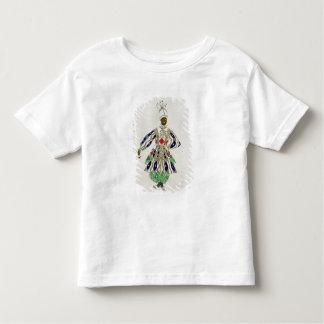 「黒人」のための衣裳、Aladdinから、1916年(色 トドラーTシャツ