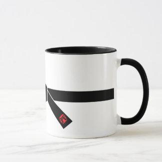 黒帯、武道の黒帯、武道 マグカップ