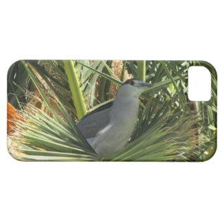 黒戴冠させた夜鷲のiPhone 5の場合 iPhone SE/5/5s ケース