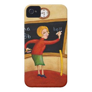 黒板および話すことの先生の執筆 Case-Mate iPhone 4 ケース