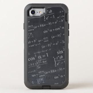 黒板のおもしろいなオタク系のの数学の同等化 オッターボックスディフェンダーiPhone 8/7 ケース