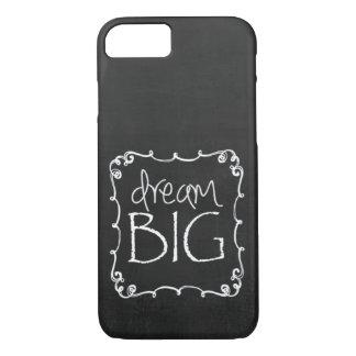 黒板のデザインの夢の大きくカスタムなiPhone 7の場合S iPhone 8/7ケース
