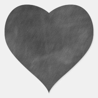 黒板のデザインを所有するために作成して下さい-文字の写真等を加えて下さい ハートシール
