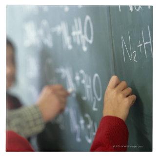 黒板の執筆化学同等化 タイル