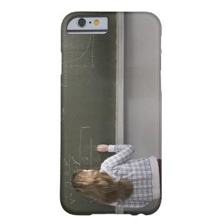 黒板の女の子の執筆 BARELY THERE iPhone 6 ケース