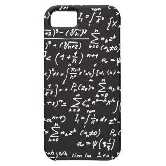黒板の数学の同等化 iPhone SE/5/5s ケース