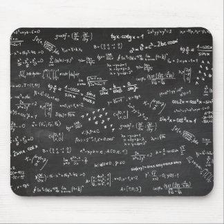 黒板の数学の方式 マウスパッド