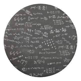 黒板の数学方式そして数 消しゴム