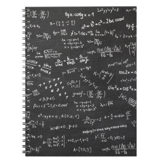黒板の数学 ノートブック
