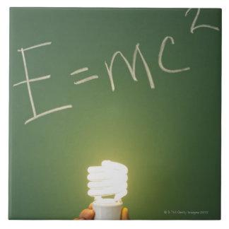 黒板の相対性理論 タイル