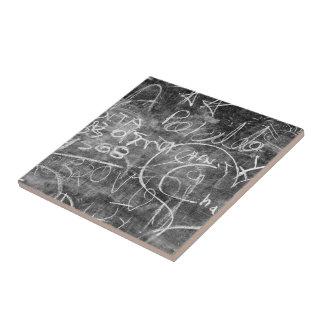 黒板の落書き001 タイル