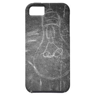 黒板の電球 iPhone SE/5/5s ケース