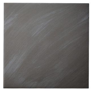 黒板の黒板の背景のレトロの木炭 タイル