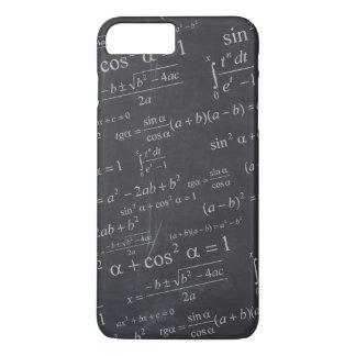 黒板-おもしろいなユニークの数学の方式 iPhone 8 PLUS/7 PLUSケース