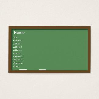 黒板-ビジネス 名刺