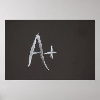 黒板A+ 黒板の背景のレトロのスタイル ポスター