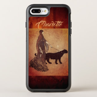 黒檀の島のエドマンドDulacのファインアートの女王 オッターボックスシンメトリーiPhone 8 Plus/7 Plusケース