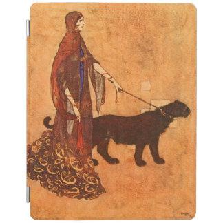 黒檀の島のエドマンドDulacのファインアートの女王 iPadスマートカバー