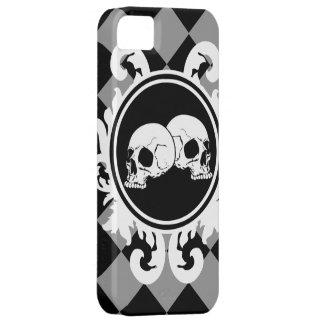 黒檀の(灰色の) iPhone 5sケースを帯で巻いて下さい iPhone SE/5/5s ケース