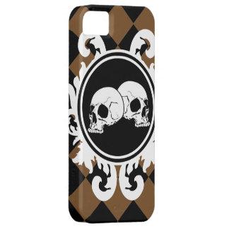 黒檀(ブラウン)のiPhone 5sケースを帯で巻いて下さい iPhone SE/5/5s ケース