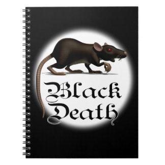 黒死病のラットのノート ノートブック