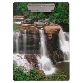 黒水熱の滝、景色ウェストヴァージニア クリップボード