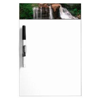黒水熱の滝、景色ウェストヴァージニア ホワイトボード