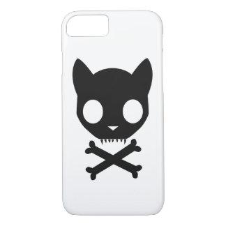 黒猫のどくろ印 iPhone 8/7ケース