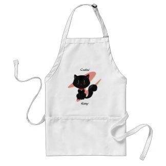 黒猫のエプロン スタンダードエプロン