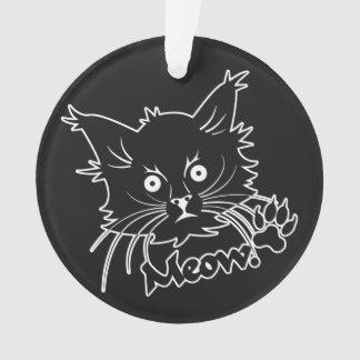 黒猫のカスタムなオーナメント オーナメント