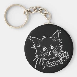 黒猫のカスタムなキーホルダー キーホルダー