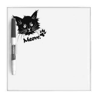 黒猫のカスタムな伝言板 ホワイトボード