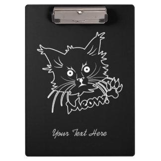 黒猫のカスタムのクリップボード クリップボード
