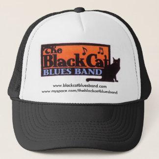 黒猫のトラック運転手の帽子 キャップ
