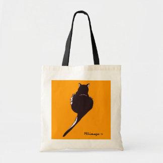 黒猫のトリック・オア・トリートのバッグ トートバッグ