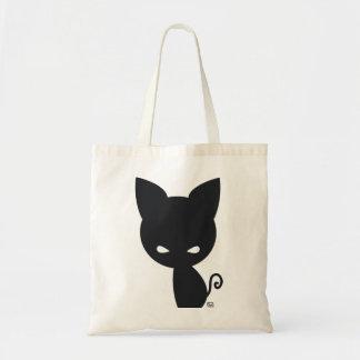 黒猫のバッグ トートバッグ