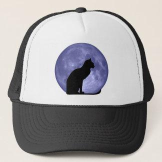 黒猫のブルームーンのhathat キャップ