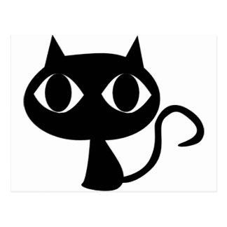 黒猫の子ネコ ポストカード