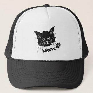 黒猫の帽子-色を選んで下さい キャップ