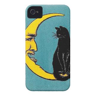 黒猫の月の箱 Case-Mate iPhone 4 ケース
