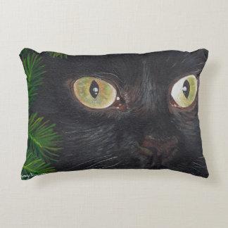 黒猫の枕 アクセントクッション