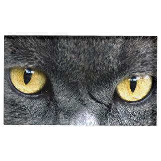 黒猫の目 テーブルカードホルダー
