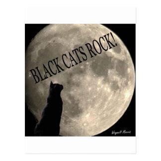 黒猫の石 ポストカード