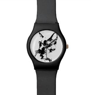黒猫の腕時計 腕時計