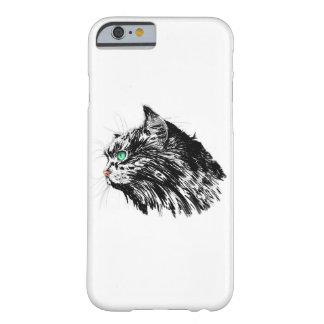 黒猫のiPhone 6/6sカバー Barely There iPhone 6 ケース