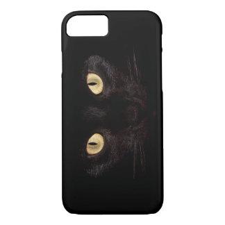 黒猫のiPhone 7の場合 iPhone 8/7ケース