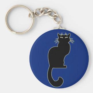 黒猫のKeychain猫のギフトペット猫のキーホルダー キーホルダー