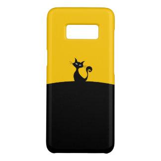 黒猫のSamsungの銀河系S8、やっと電話箱 Case-Mate Samsung Galaxy S8ケース
