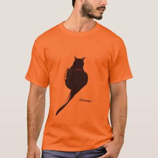 黒猫のTシャツ Tシャツ